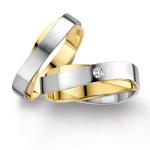 Exclusieve ringen geel en witgoud - Circles Trouwringen