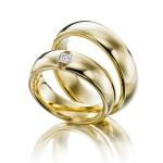Mooie klassieke stevige modellen trouwringen Princess 0.15ct