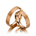 Roodgouden trouwringen-Safari collectie-model Oerang Oetang