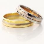 EGF trouwringen bicolor - Circles Trouwringen