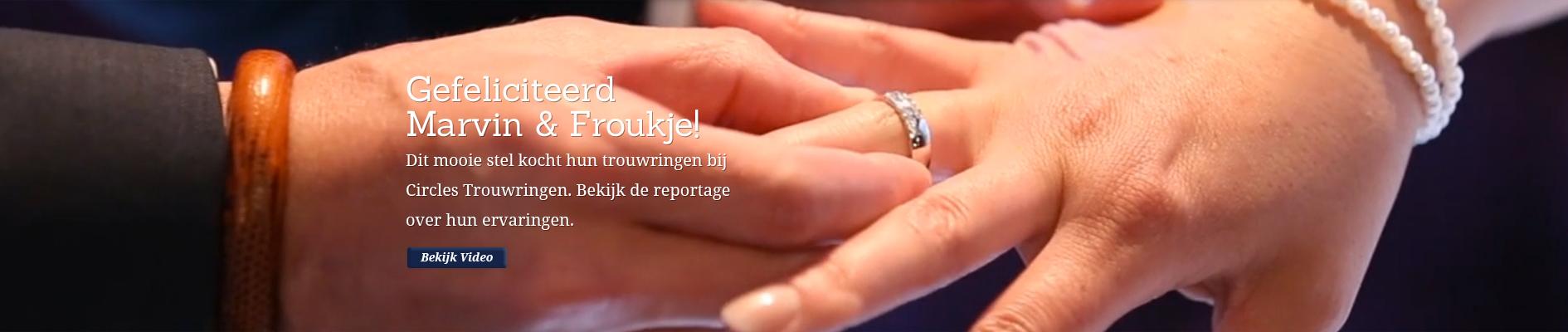 Gefeliciteerd Marvin & Froukje