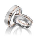 Prachtige diamant trouwringen - Circles